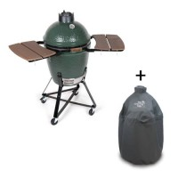 Big Green Egg Medium compleet met hoes